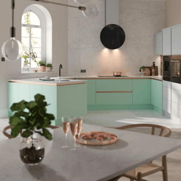 Pastel kitchen trend