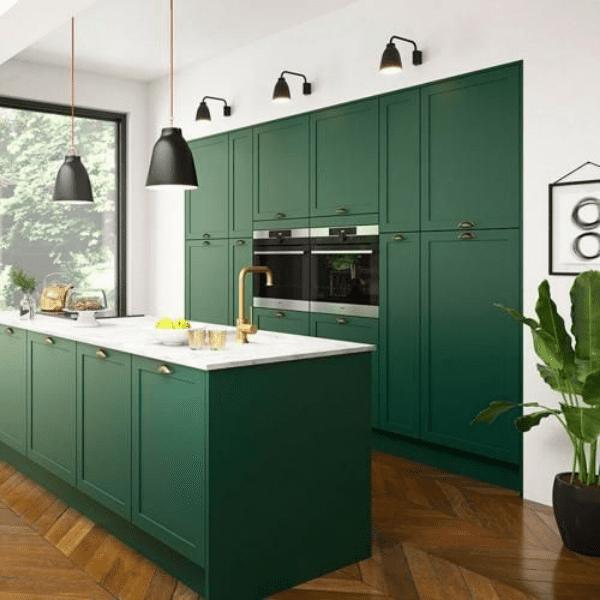 Green Kitchen Trend